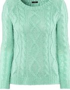 Miętowy sweterek h&m lana del rey