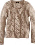 H&M Kolekcja 2012 złote nitki dłuższy tył M...