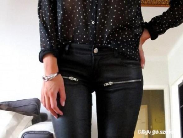 Spodnie zameczki