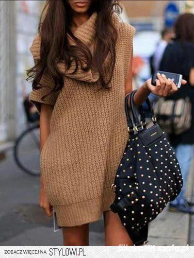 sweterek tunika