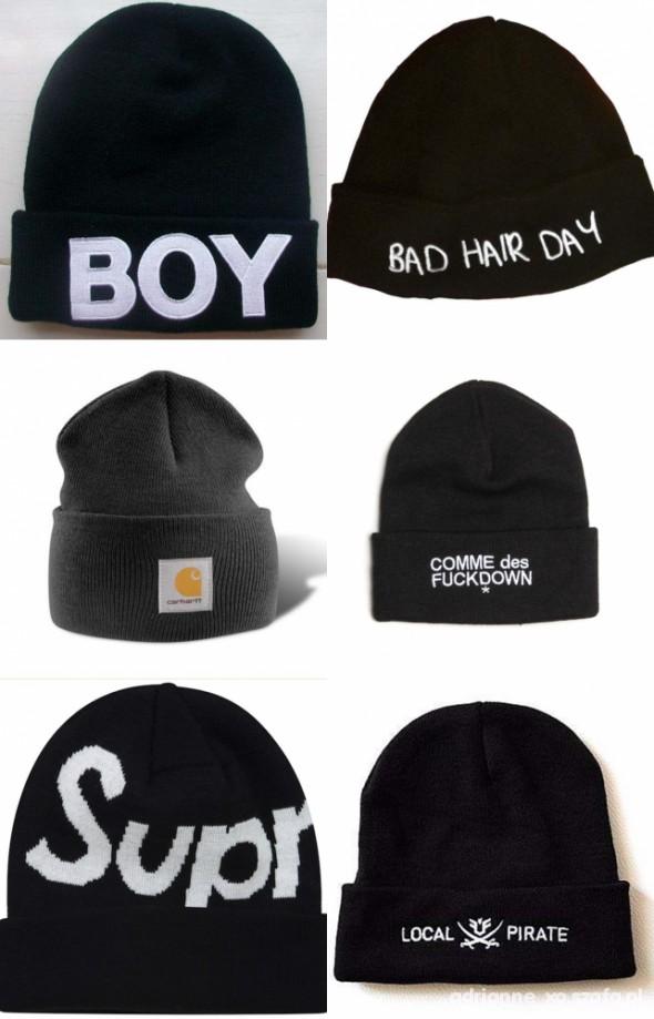 BEANIES zimowe czapki