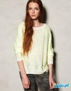 KUPIĘ Limonkowy sweter Pull&Bear