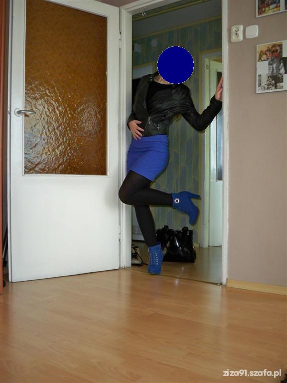 Mój styl 27 11 2012 moj styl chabrowe botki bandazowaH&M