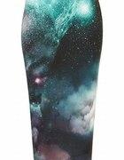 Topshop Cosmic Printed Tube Skirt