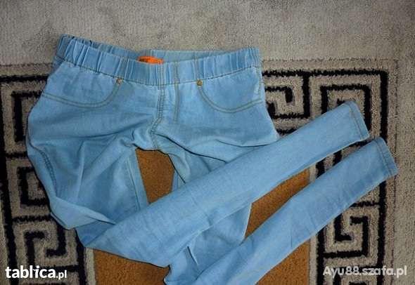 Tregginsy M L jasny jeans ŚLICZNE DEINIM CO