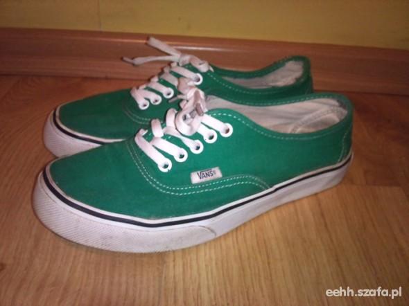 vans authentic zielone