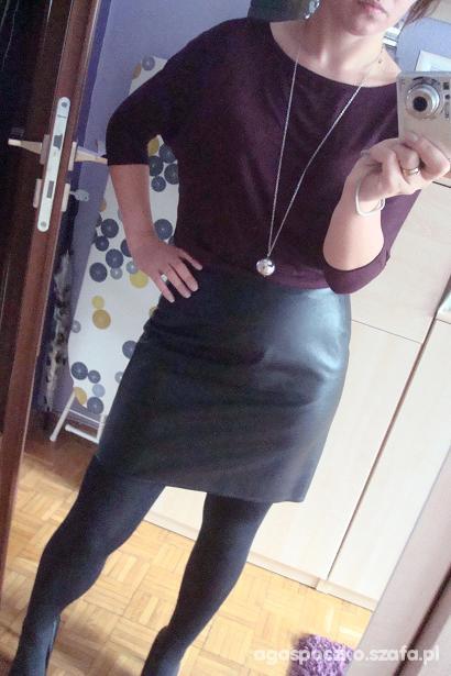 Mój styl burgundowo
