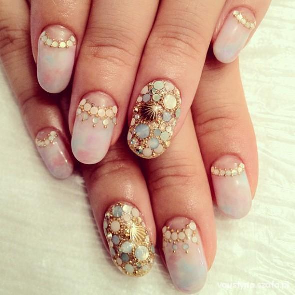 Fryzury paznokcie
