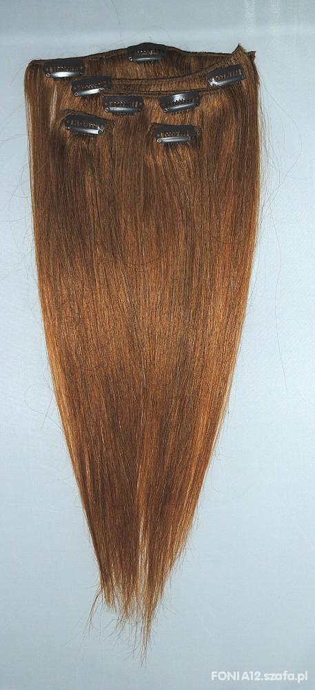 Naturalne włosy Remy