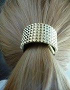 Metalowa gumka do włosów