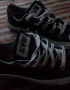 Czarne Converse 35 36