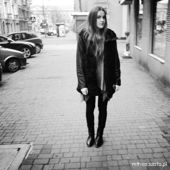 Mój styl Blacky inspired by ALEXANDER WANG