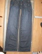 Spodnie szwedy Bershka roz 34 jeans