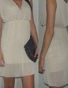sukienka zwiewna bez