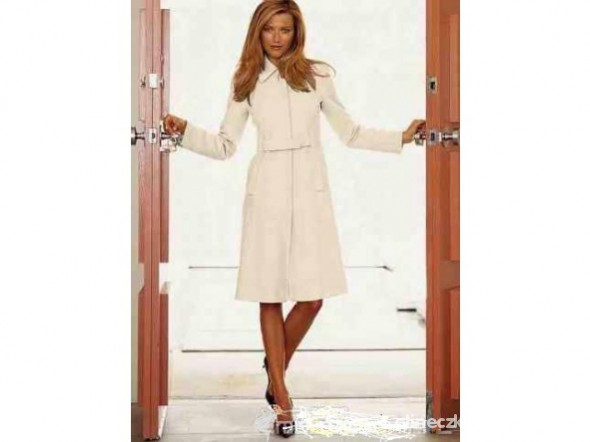 Mój styl Śliczny płaszcz z Victoria Secret