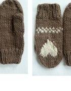 rękawiczki serduszko h&m