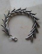 Moja nowa zdobycz srebro bransoletka