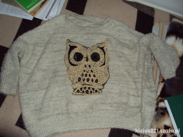sweter sowa