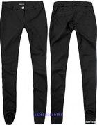 czarne spodnie legginsy treginsy itp