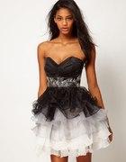 ASOS Lipsy VIP Ruched Bust Dress