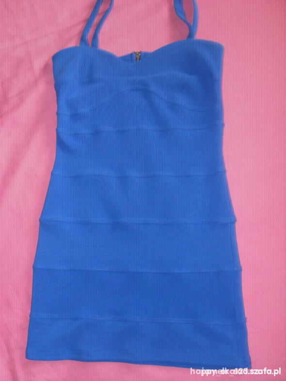 Suknie i sukienki Atmosphere kobaltowa
