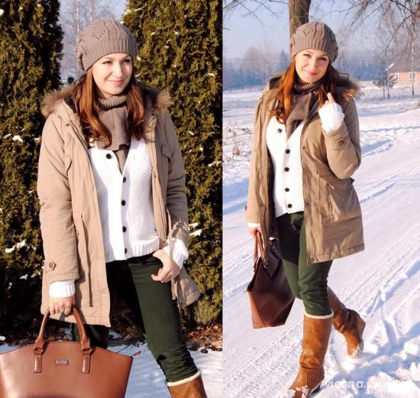 Mój styl w zimowej aurze