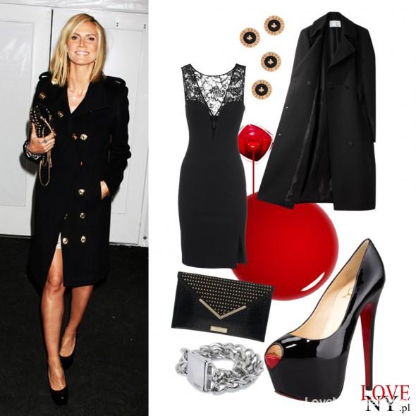 Eleganckie Prywatny styl Heidi Klum