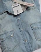 Koszula jeansowa Stradivarius