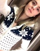 Sweter wzory Kasia Tusk