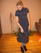sukienka w norweskie wzory...