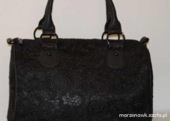 Dodatki kuferek koronkowy orsay torebka koronka
