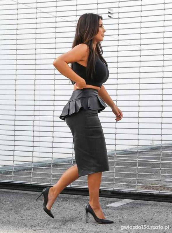 Mój styl Kim kardashian