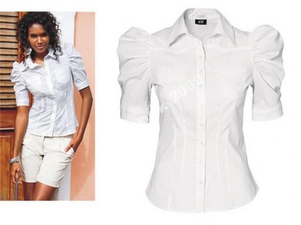 Koszule biała H&M rozm 38 z bufkami