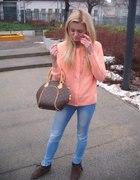 pomaranczowy sweter...