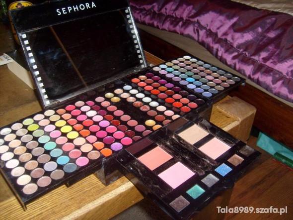 Zestawy Paleta do makijażu Sephora XXL 190 kolorów