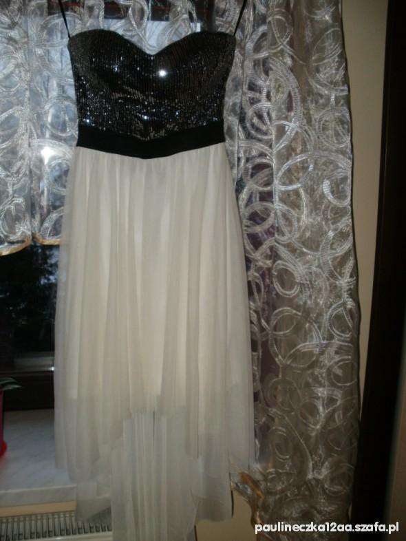 Suknie i sukienki Z cekinowa groa