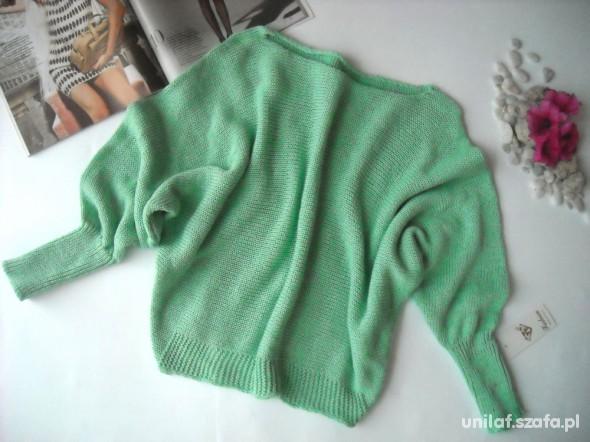 Swetry nowy miętowy sweter 25 WYPRZEDAŻ