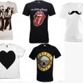 t shirt beatles stones mustache