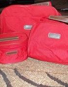Zestaw torebka i dwie kosmetyczki
