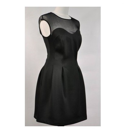czarna sukienka na studniówke