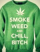 bluza smoke weed lub cool story bro