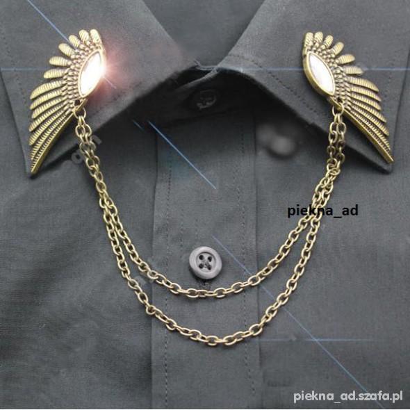 Naszyjniki Collar cllip tips skrzydełka