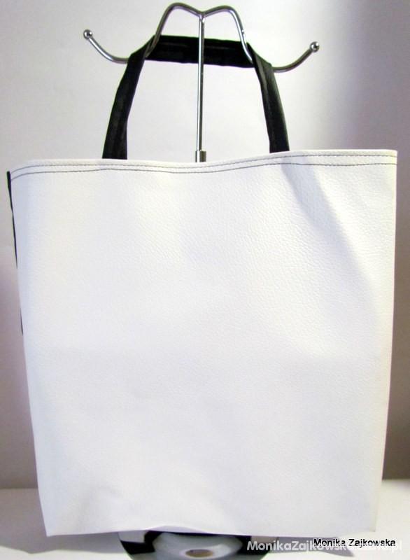 Dwustronna Shopper Bag Tanio