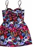 sukienka floral topshop...