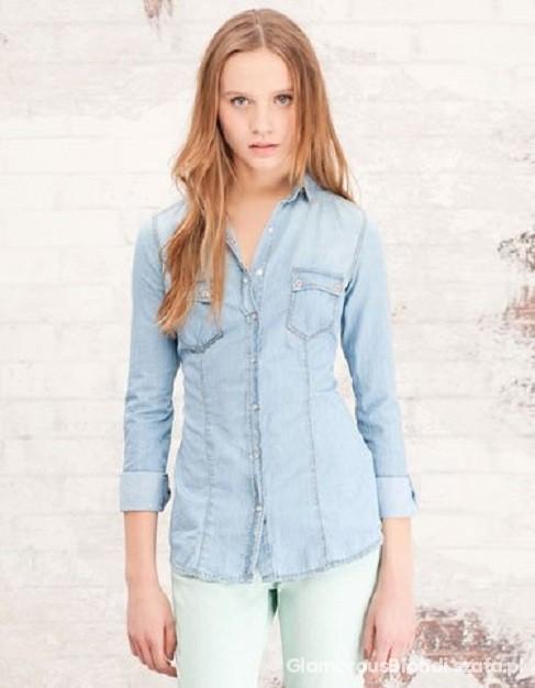 Koszula jasny jeans