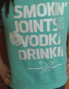 smoking joints vodka drinking damska miętowa