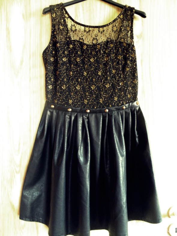 Rockowa sukienka