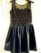 Rockowa sukienka...