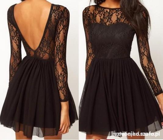 Ubrania sukienka koronkowa