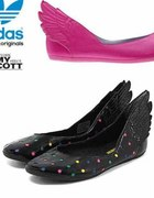 Baleriny ze skrzydłami marki Adidas...